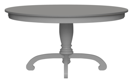 Della Pedestal Dining Table