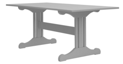 Inga Trestle Dining Table