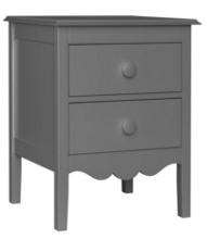 Nellie 2-Drawer Bedside Table