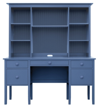 Cottage and Coastal Style Office Furniture | Painted Solid Wood ...
