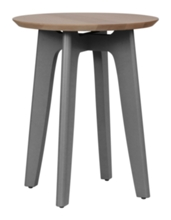 Koby Small Round Table - Maple Top