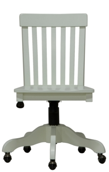 Solid Wood Office Chairs | Painted Cottage and Coastal Style ...