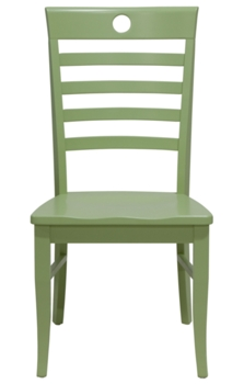 Solid Wood Office Chairs   Painted Cottage and Coastal Style ...