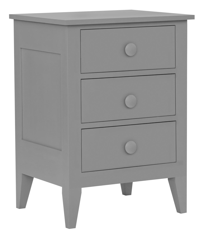 Addy 3-Drawer Bedside Dresser