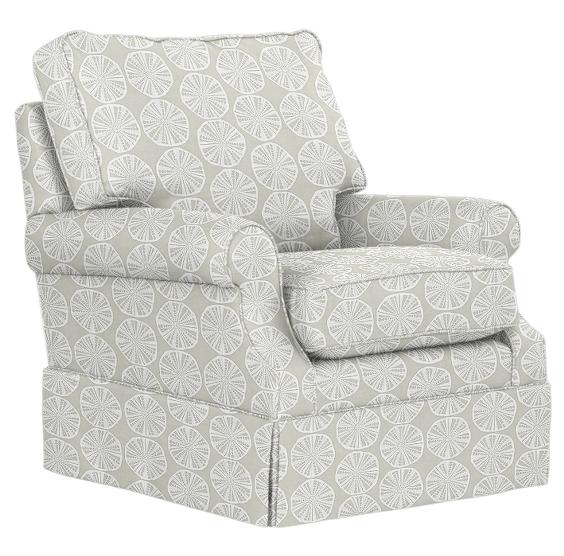 lucy swivel glider chair maine cottage