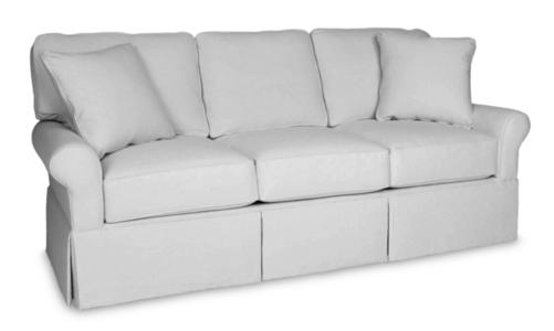 Wilton Skirted Queen Sleeper Sofa