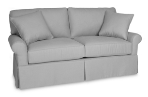 Wilton Skirted Full Sleeper Sofa