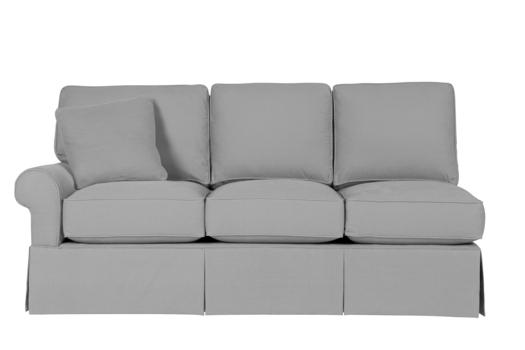 Wilton Skirted Left Arm Facing Sofa