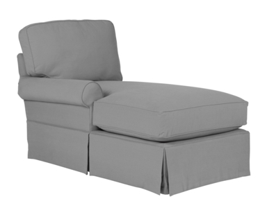Wilton Skirted Left Arm Facing Chaise