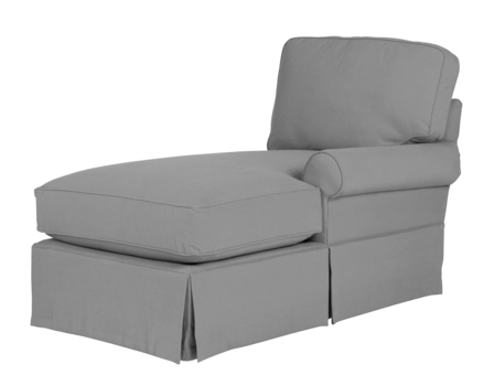 Wilton Skirted Right Arm Facing Chaise