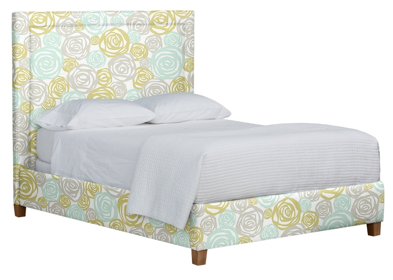 Annie Upholstered Bed Queen Maine Cottage