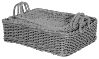 Rectangular Nesting Trays (set of 3)