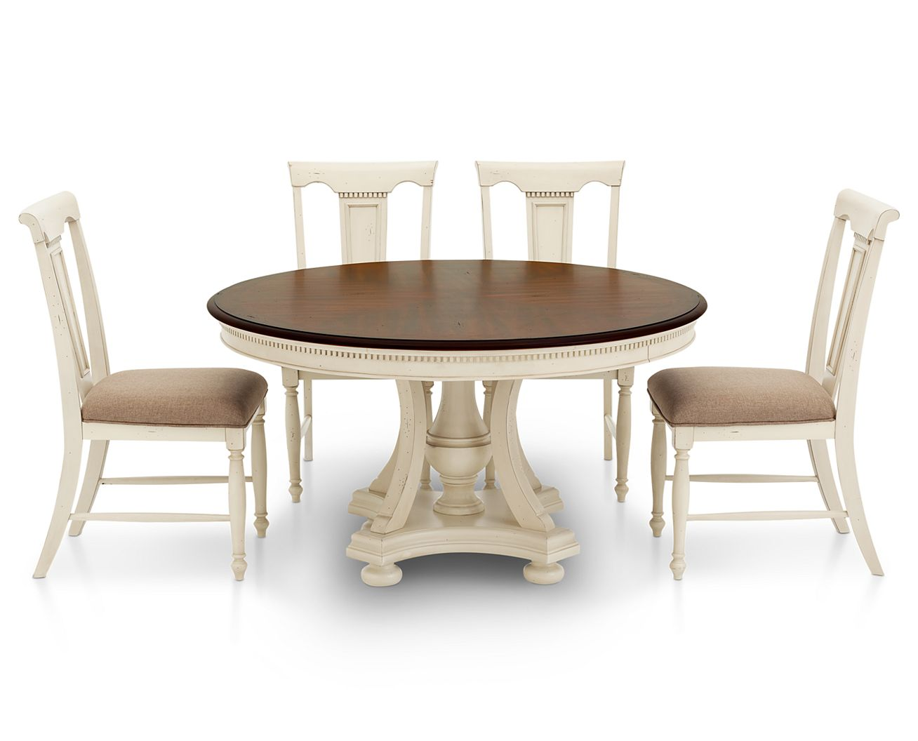 Bridgeport 5 Pc. Round Dining Room Set - Furniture Row