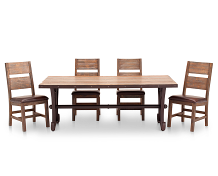 Casa Viejo 5 Pc Rectangle Table Dining Room Set
