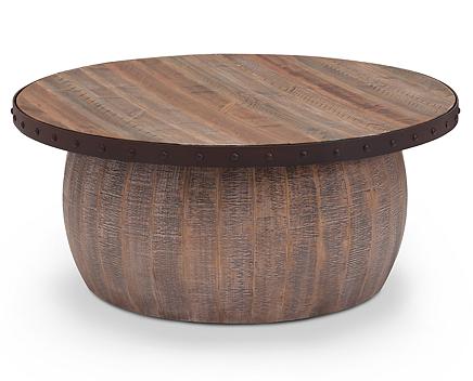 - Casa Viejo Drum Coffee Table - Furniture Row