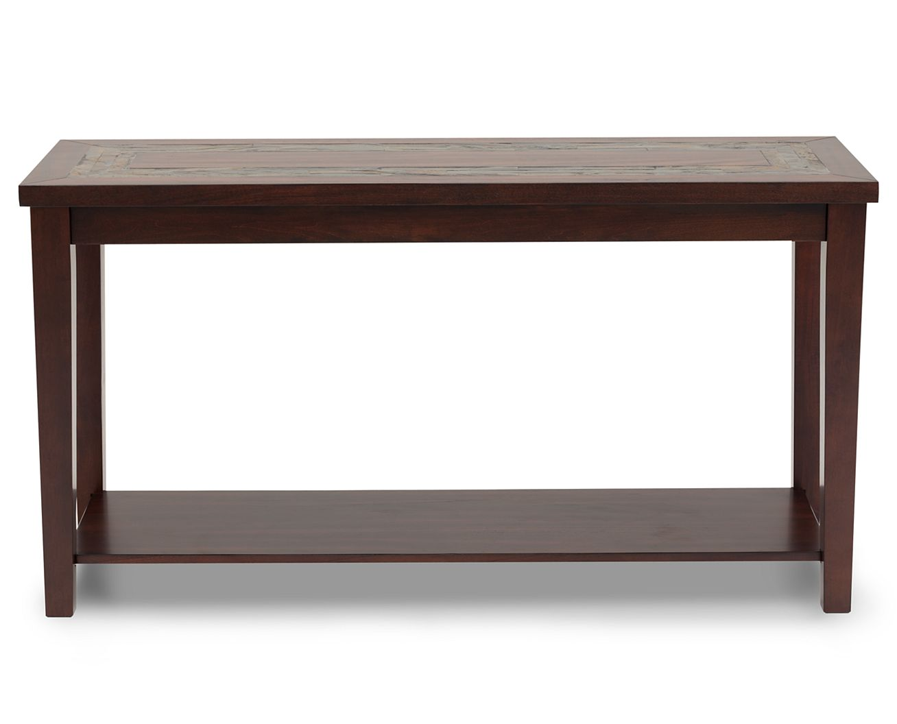 Sofa Tables Davenport Sofa Table Features a real slate inlay