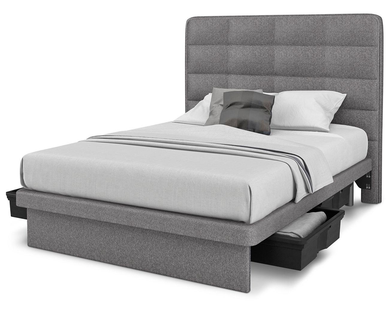 denver platform bed with storage  denver mattress -  denver platform bed with storage full screen rollover to zoom