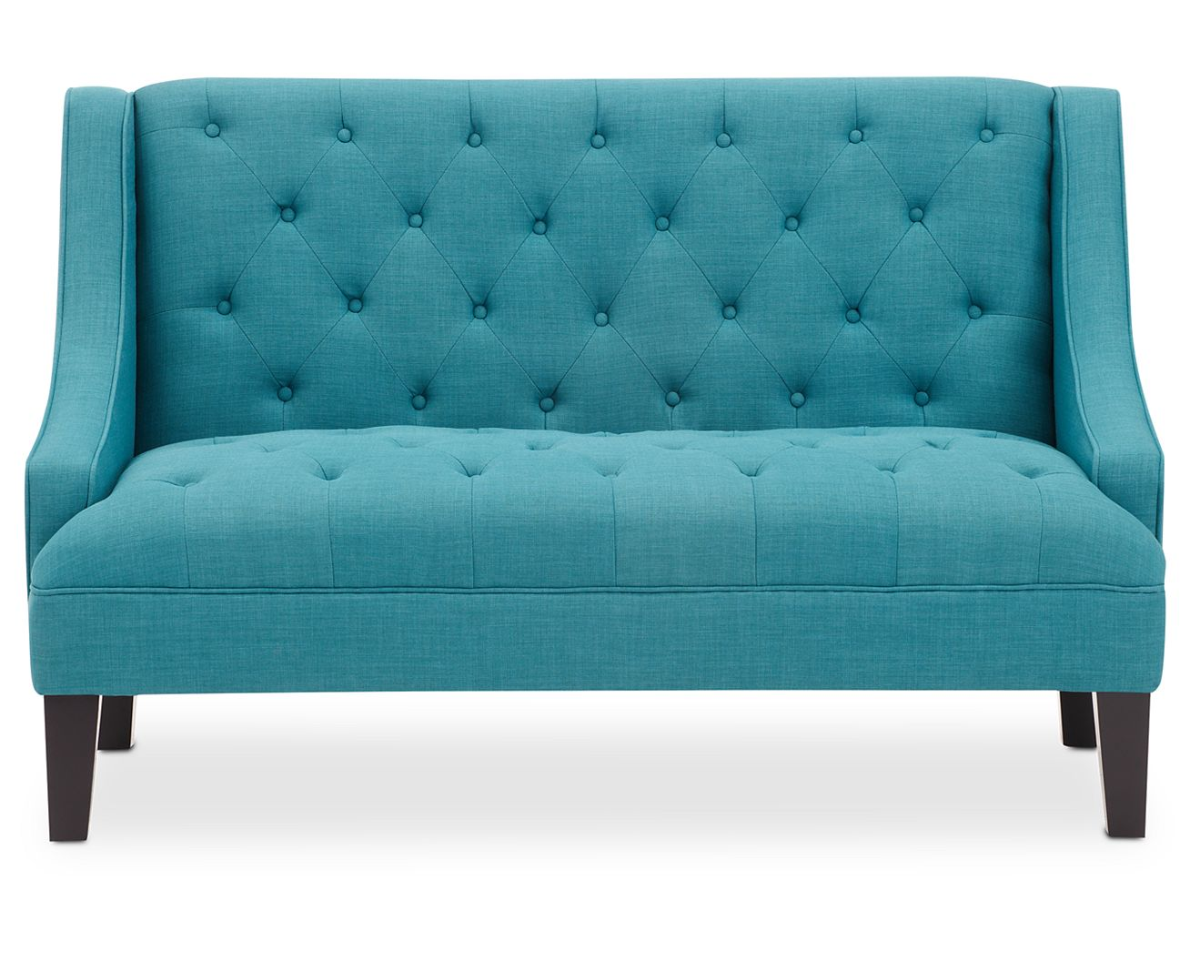 Royal blue accent chair - Eden Settee
