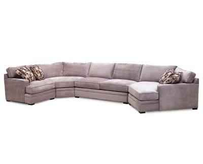 Charming Glenwood 4 Pc. Sectional