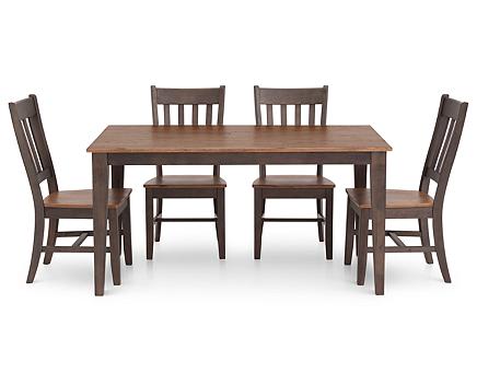 Hudson Park 5 Pc 60 Rectangular Dining Room Set
