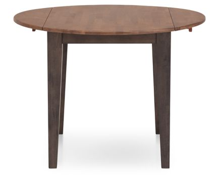 Hudson Park Round Drop Leaf Dining Table Furniture Row