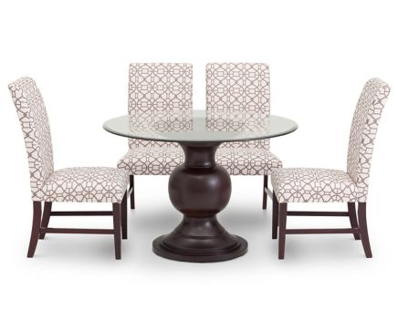 dining room sets kitchen table sets furniture row jasmine 5 pc dining room set