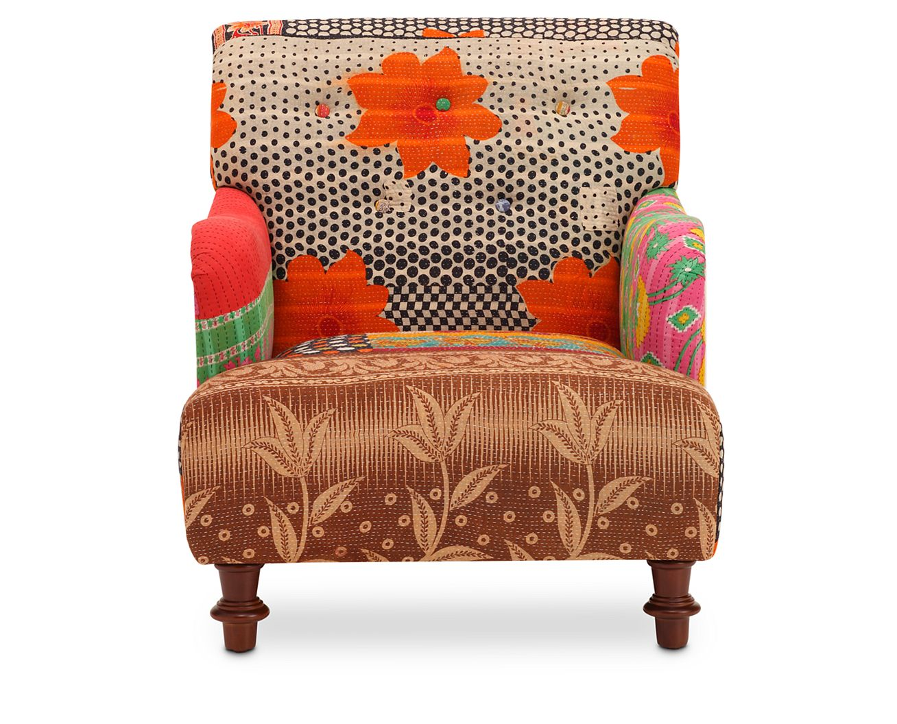 comfy accent chairs occasional chairs  furniture row - kantha accent chair