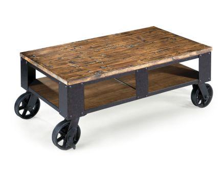 pinebrook rectangle coffee table - furniture row