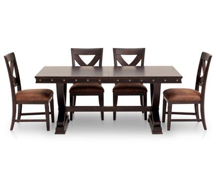 Santa Fe 5 Pc Dining Room Set Furniture Row