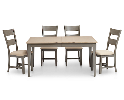 Shaker Pc Rectangle Dining Room Set Furniture Row