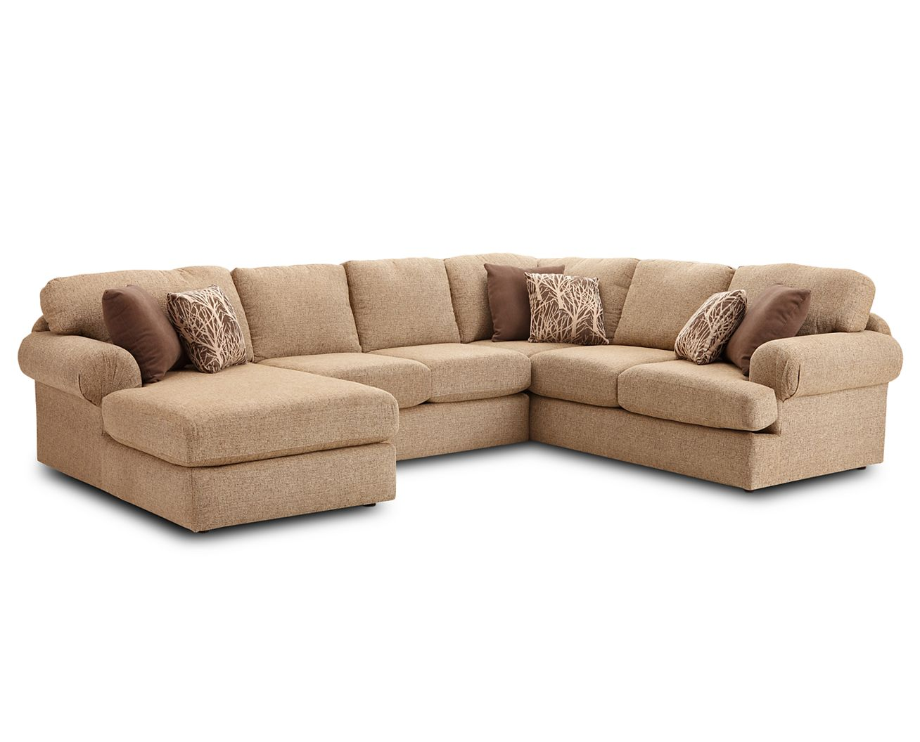 Southport Bedroom Furniture Southport 3 Pc Sectional Furniture Row