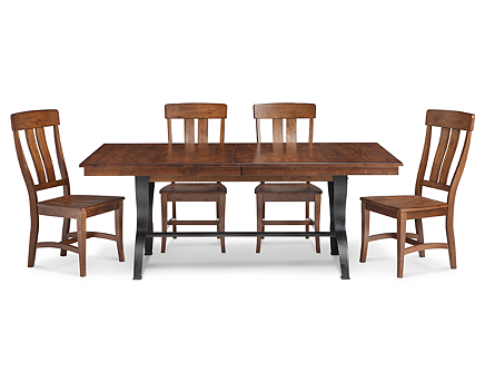 The District 5 Pc Dining Room Set