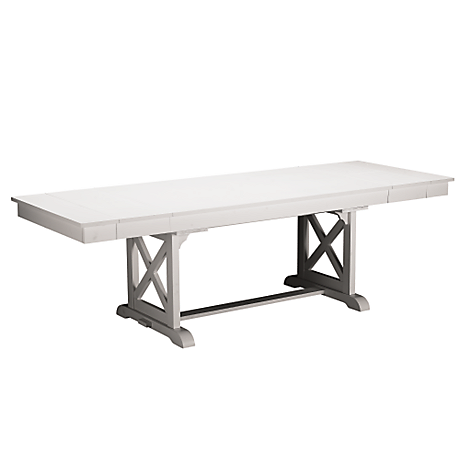 Plantation Cove 36x47 White Table