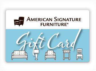 American Signature Furniture Gift Card