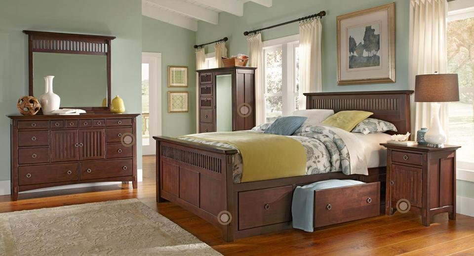 Living Room Bedroom and Dining Room Furniture by American