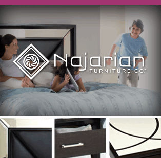 Bedroom and Dining Room Furniture by Najarian