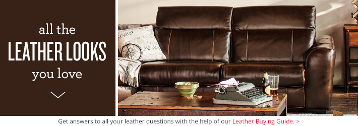 Leather Living Room Furniture | Value City Furniture