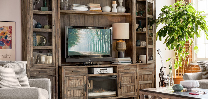 tv stands and media center from American Signature Furniture