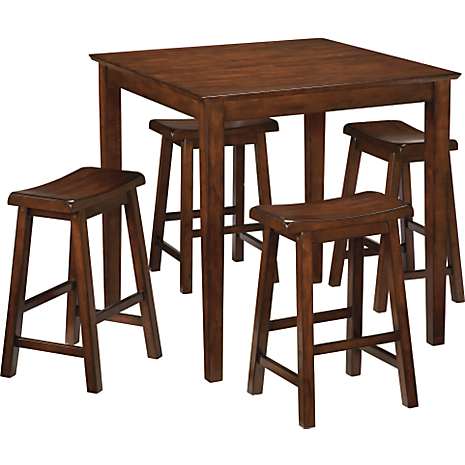 Cherry 5-PC Counter Height Dinette
