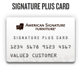 Signature Plus Credit Card