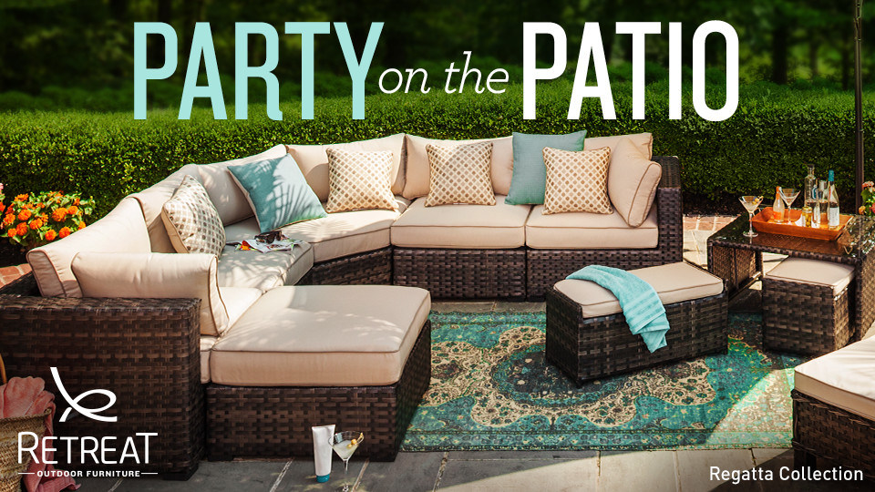 Shop the Regatta collection from Retreat Outdoor Furniture.
