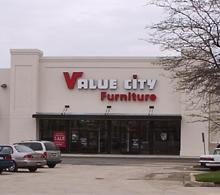 Niles Value City Furniture Storefront