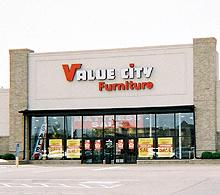 North Olmsted Value City Furniture Storefront