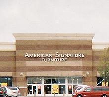 Delightful American Signature Furniture Store 410. American ...
