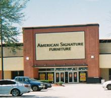american signature furniture store