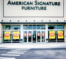 High Quality American Signature Furniture Store 417. American ...