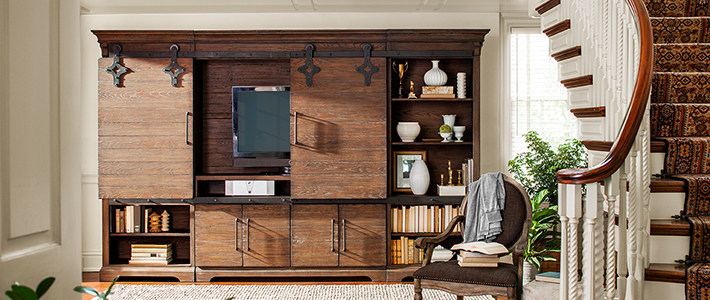 tv stands and media centers from Value City Furniture
