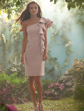 Wedding Gowns Alfred Angelo 55 Superb Short bridesmaid dresses alfred