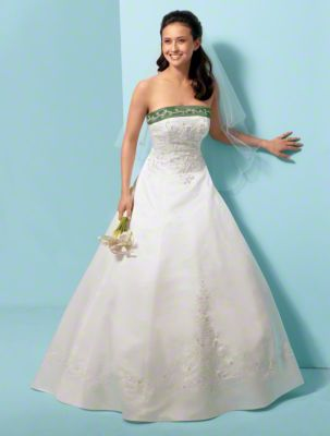 Style 1612 from Alfred Angelo Signature Wedding Dresses - Front