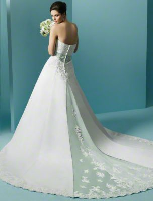 Style 1708 from Alfred Angelo Signature Wedding Dresses - Front